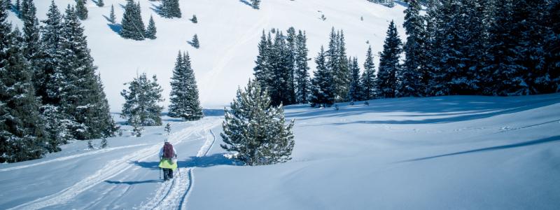 snowshoeing in winter park colorado